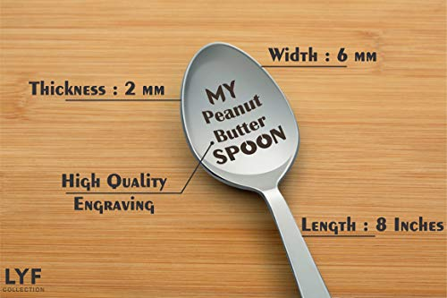 Buy peanut butter spoon personalized