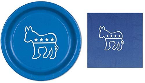 Democrat Election Donkey Blue Party 9