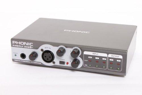 [해외]Phonic FIREFLY 302 PLUS 휴대용 파이어 와이어 인터페이스 886830258077/Phonic FIREFLY 302 PLUS Portable Firewire Interface 886830258077