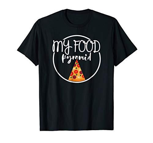 food pyramid pizza shirt - 3