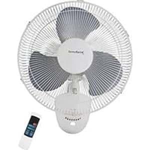 fan wall mount 3 speed 16in home kitchen