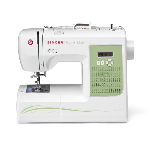 SINGER Factory Serviced 7256 Fashion Mate Computerized Sewing Machine