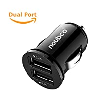 Quick Qualcomm 2.0 Car Charger 24 W 4.8 A Dual USB boost adapter Type A/B/C port for iPhone X / 8 / 7 / 6s / Plus