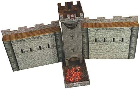 Amazon.com: Castle Keep Dice Tower, 2 Castle Wall DM Screens ...