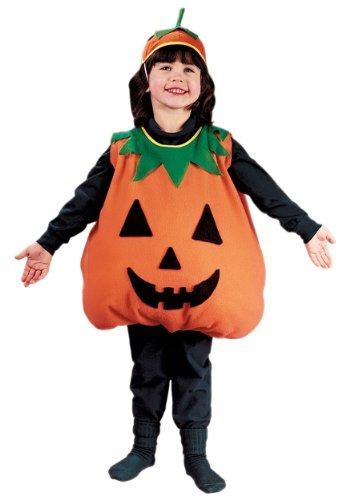 Fun World Big Boys' Pumpkin Costume Size 4/6 ()