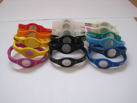 Power Balance Small Red White