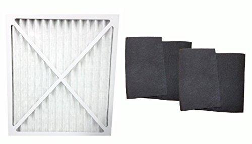 1 Hunter 30201, 30212, 30213, 30240 & 30241 Air Purifier Filter & 2 Carbon Pre Filters, Part # 30931, 30901, 30903, 30907, 30958 & 30959