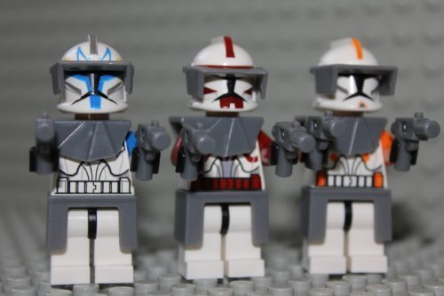 STAR WARS LEGO Captain Rex Cody & Fox - Commander 2
