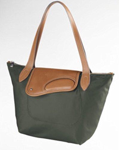 b8afa9b542 Ralph Lauren Nylon Wooten Shoulder Bag Olive Green  Handbags  Amazon.com