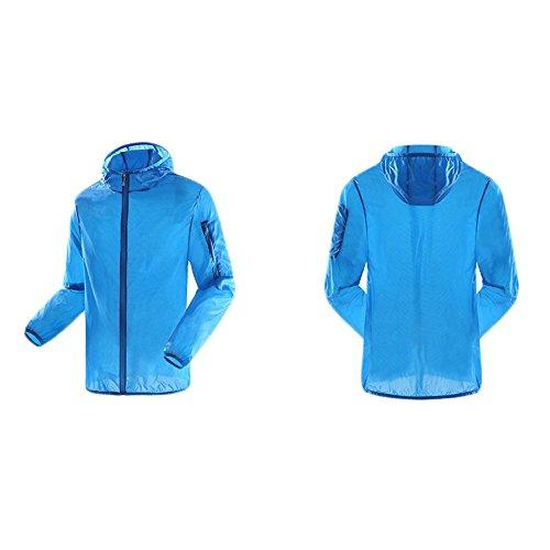 Estate Bluemale Giacca Traspiranti Abbigliamento Ad Pelle sottile Solare Asciugatura Couples Uomo Donne Protezione Da Rapida Ultra Impermeabile qfaTfXr