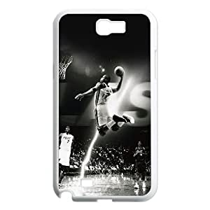 Samsung Galaxy N2 7100 Cell Phone Case White Sport Basketball Hoop Ball Player Cool For Guys OJ686583