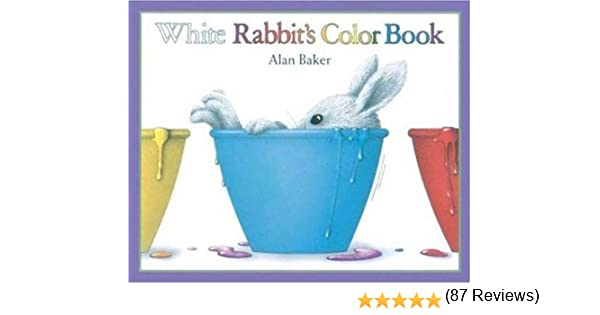 white rabbit color book | Coloring Pages