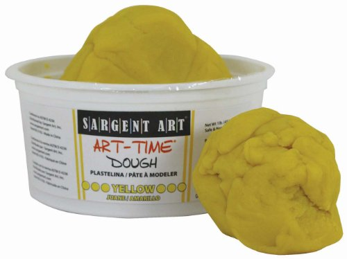 Sargent Art 85-3102 1-Pound Art-Time Dough, Yellow