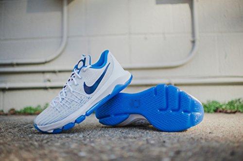 Nike KD 8 Men US 9.5 White Basketball Shoe