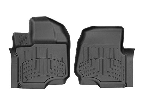 WeatherTech Custom 3D Floor Mats for 2015-2019 Ford F-150-1st Row (Black)