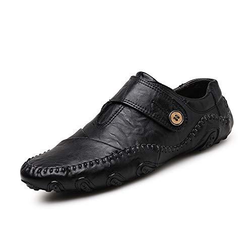 Gommino Negro Zgsjbmh liviano 24 genuinos Corte Confortables de bajo Mocasín y Negocios Zapatos Suave de 28 único Tamaño marrón de de Diseño 5cm 0cm Gommino Mocasín Zapatos Negro Cuero Pisos tqCYwq1Wrx