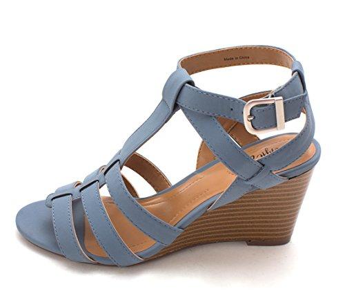 Stile & Co. Womens Haydar Punta Aperta Sandali Slingback Casuali Jeans  Vintage