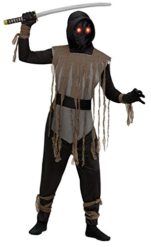 Costumes Glow City (Fade In Out Kids Ninja Costume Black Large)