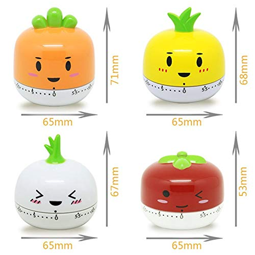 Helpful Hot Sale Cute Fruit Vegetable Cartoon Electronic Cooking Timer Mechanical Kitchen Cooking Accessory Home & Garden