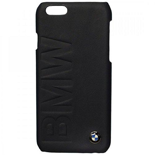 BMW Leder Hülle für Apple iPhone 6 Plus/6S Plus schwarz