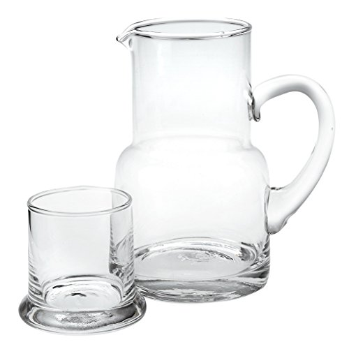 bedside pitcher with glass - 7