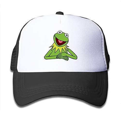 Kangtians Unisex Kermit The Frog Children's Hats Kid Hat Mesh Cap Hip Hop Caps Denim Trucker Cap