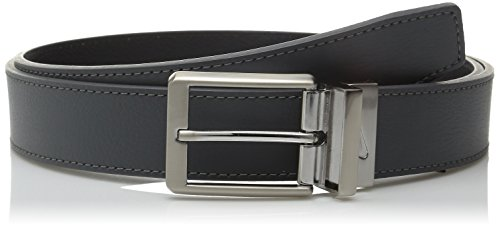 Nike Men's Core Reversible Belt, Dark Grey/Black, 38