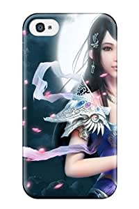 rebecca slater's Shop 8072724K22175531 Perfect World Game Girl Fashion Tpu 4/4s Case Cover For Iphone