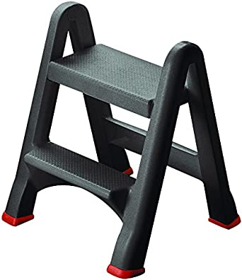 Admirable Amazon Com Curver Two Step Stool Industrial Scientific Ocoug Best Dining Table And Chair Ideas Images Ocougorg