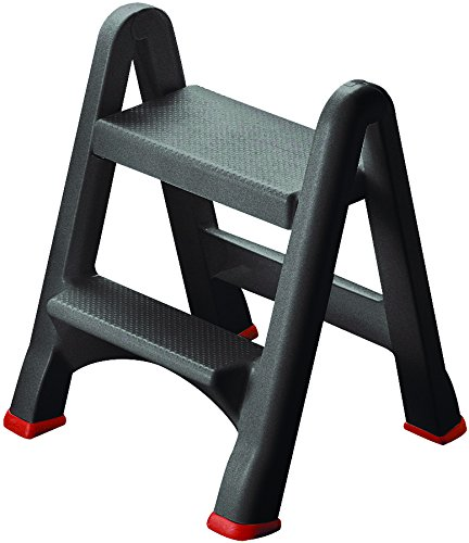 Folding Rubbermaid Curver Plastic 2 Step Stool - Mini Ladder Horse Equestrian Mounting Block also for  sc 1 st  Amazon.com : 2 step folding plastic step stool - islam-shia.org