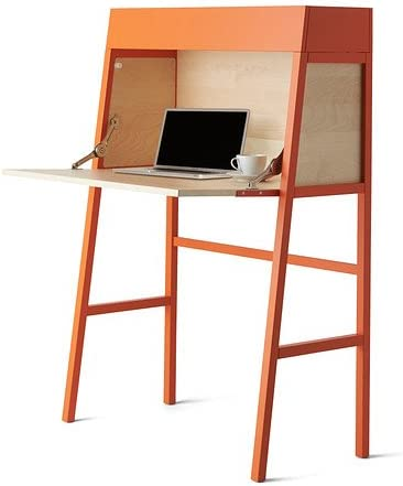 Ikea PS 2014 – Mesa, Color Naranja, Chapa de Abedul – 90 x 127 cm ...