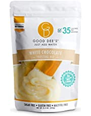 Good Dee's Just Add Water White Chocolate Frosting Mix - Low Carb Keto Frosting Mix (35 Calories, 1g Net Carb Per Serving) | Gluten-Free, Sugar-Free & Maltitol-Free | Diabetic & Atkins Friendly