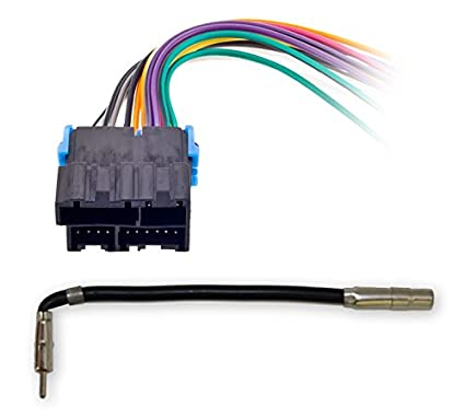 amazon com metra 70 1858 radio wiring harness for general motors rh amazon com