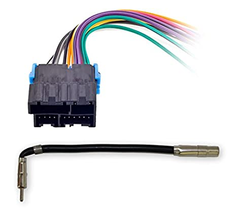 41KeUICGOeL._SX463_ amazon com metra 70 1858 radio wiring harness for general motors general motors wiring harness at edmiracle.co