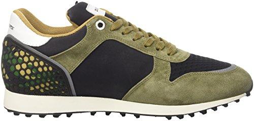 DAcquasparta Cosimo, Sneaker a Collo Basso Uomo Verde (On U1050)