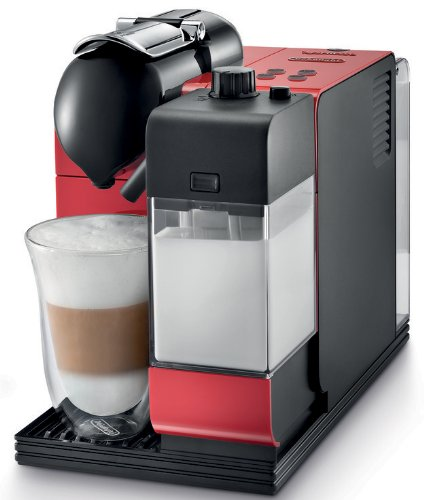 DeLonghi Red Lattissima Plus Nespresso Capsule System by DeLonghi