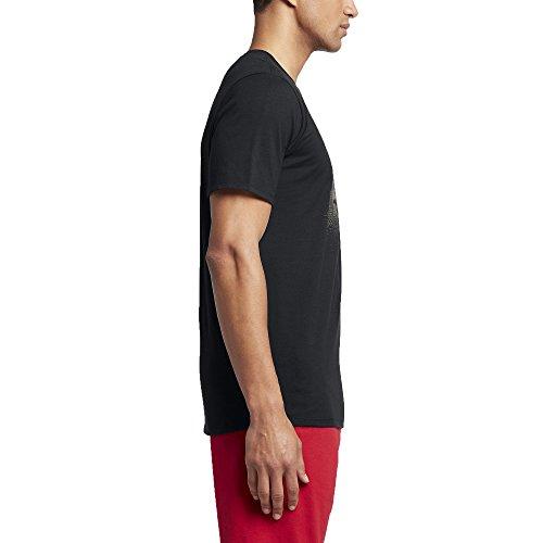 Courtes Air Noir Manches 13elevated Homme shirt Ligne Tee Aj black Jordan T Nike 8qOYc1