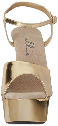 Women color Scegli Sz Ellie chrome Shoes 609 Platform Sandal Px5q5v8g