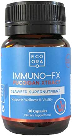 Eco Ora Fucoidan Brown Seaweed Extract (Mozuku) Supplements 85-95% Purity - Natural Immune Boost with Powerful Anti-Inflammatory and Antiviral Properties