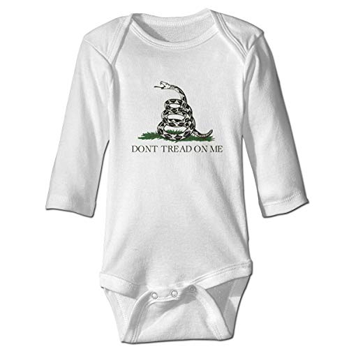 NEST-Homer Gadsden Flag Long Sleeve Baby Onesies Bodysuit Baby Outfits ()
