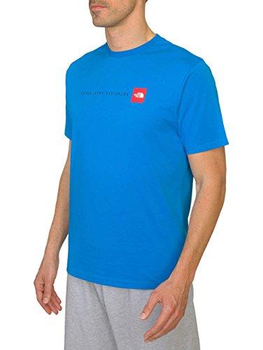 The North Stop BlueXl shirt Exploring Blue Never TeeBludrummer FaceT Uomo dCsQthr