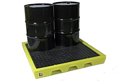 4-drum poly spill pallet 31-1258 by Lubetech