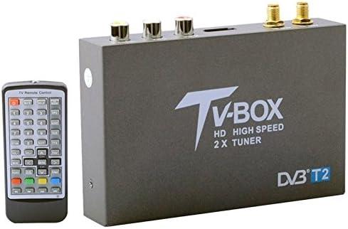 Wewoo Receptor TV Mobile Coche Digital de Antena de Doble ...