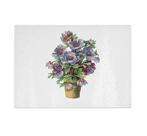 Style in Print Flowers In Vase Vintage Look Kitchen Bar G...