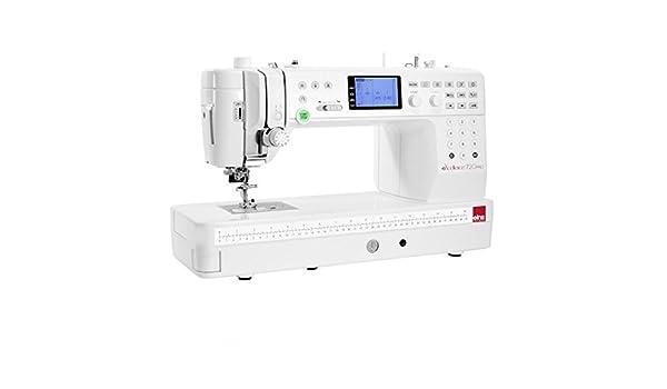 Elna Excellence 720 (Elna 7300) Máquina de coser con gran - Tijeras de costura y Quilt de zona de trabajo: Amazon.es: Hogar