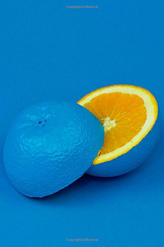 Download An Unexpected Orange in Blue Journal: 150 Page Lined Notebook/Diary pdf