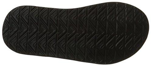 Rif Phantom Heren Sandalen | Comfortabele Slippers Voor Mannen Zwart