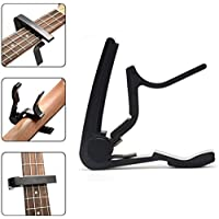Boombox Black Guitar Capo For Acoustic, 12 String and Classical Guitar 8