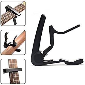 Boombox-Black-Guitar-Capo-For-Electric-Acoustic-12-String-and-Classical-Guitar