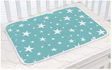 mini bolsa 50 * 70cm impermeable y art/ículo viaje estera de cambiar pa/ñal Ligero Bebe Cambio de alfombra Cambiador almohadillad